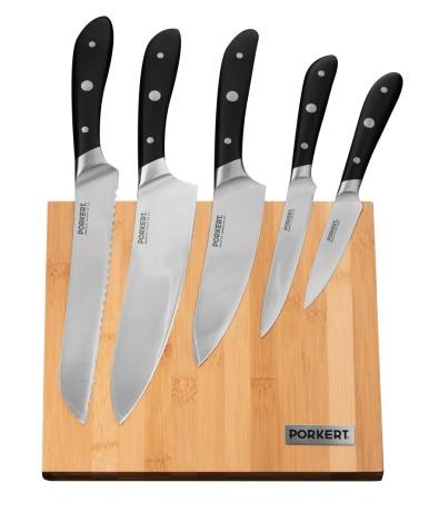 Sada nožů Vilem s dřevěným blokem