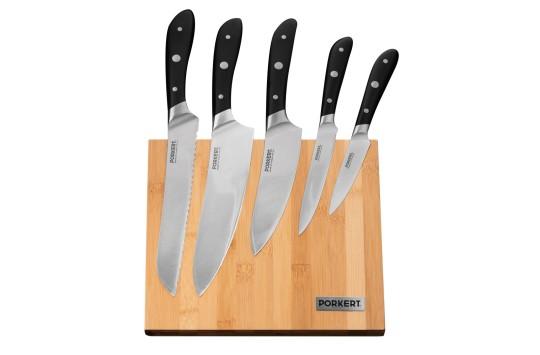 Dárková sada nožů Vilem s dřevěným blokem